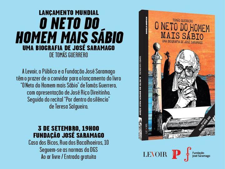 'O Neto do Homem mais Sábio' + concerto Teresa Salgueiro