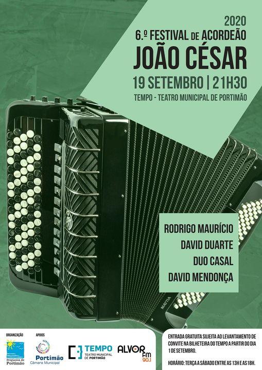 6.º Festival de Acordeão João César