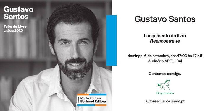 Lançamento do novo livro de Gustavo Santos