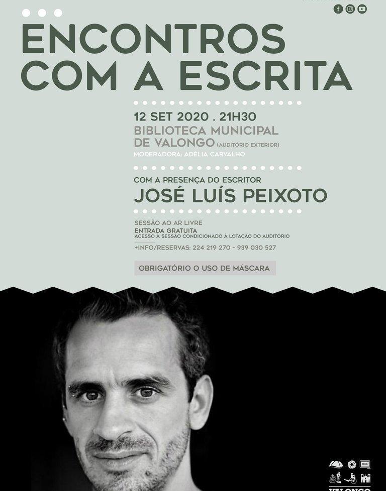 José Luís Peixoto nos 'Encontros com a ...