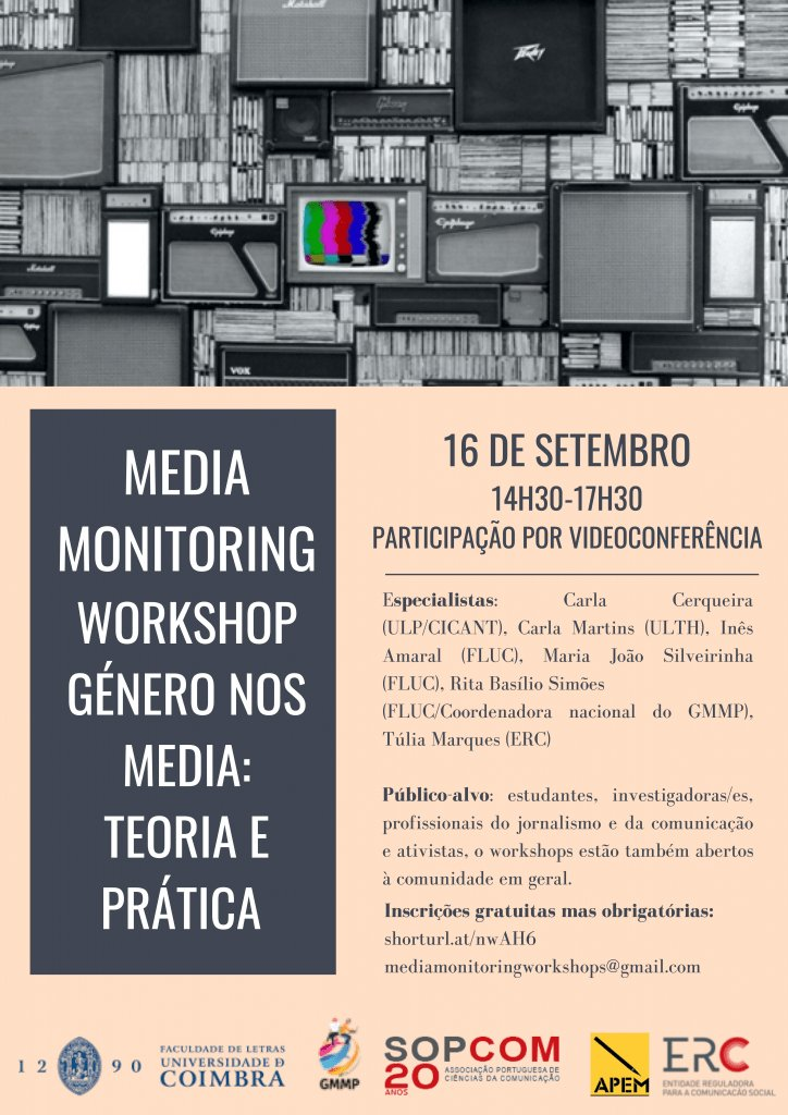 Media Monitoring Workshop | Género nos Media: Teoria e Prática