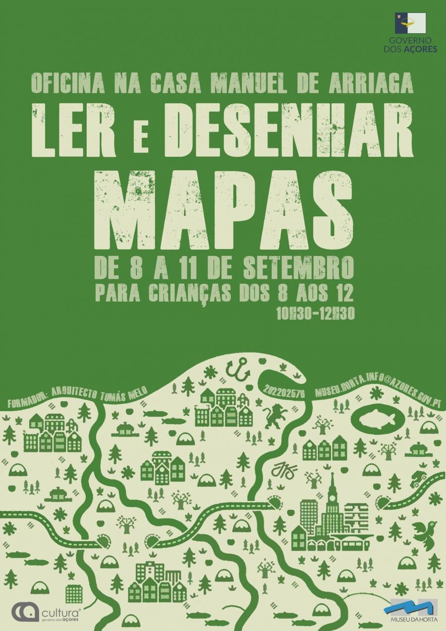 Oficina Criativa 'Ler e Desenhar Mapas'