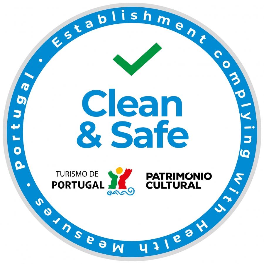 Atribuição do Selo Clean&Safe aos equipamentos Culturais e Biblioteca