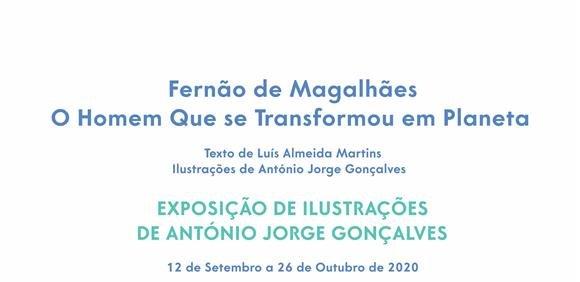 Exposição de Ilustrações de António Jorge Gonçalves
