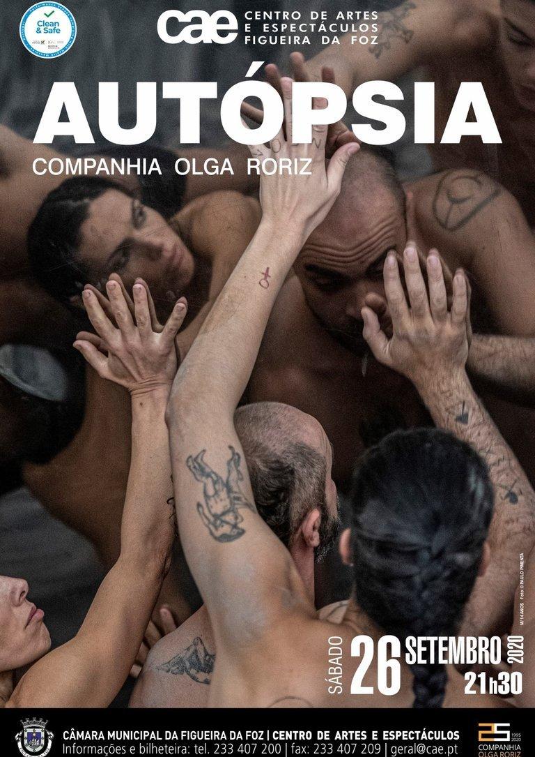 'Autópsia', pela Companhia Olga Roriz.