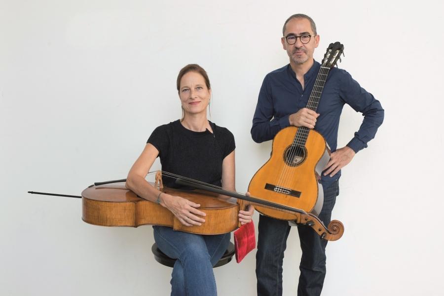 FIMPV: Concerto Anja Lechner e Pablo Márquez