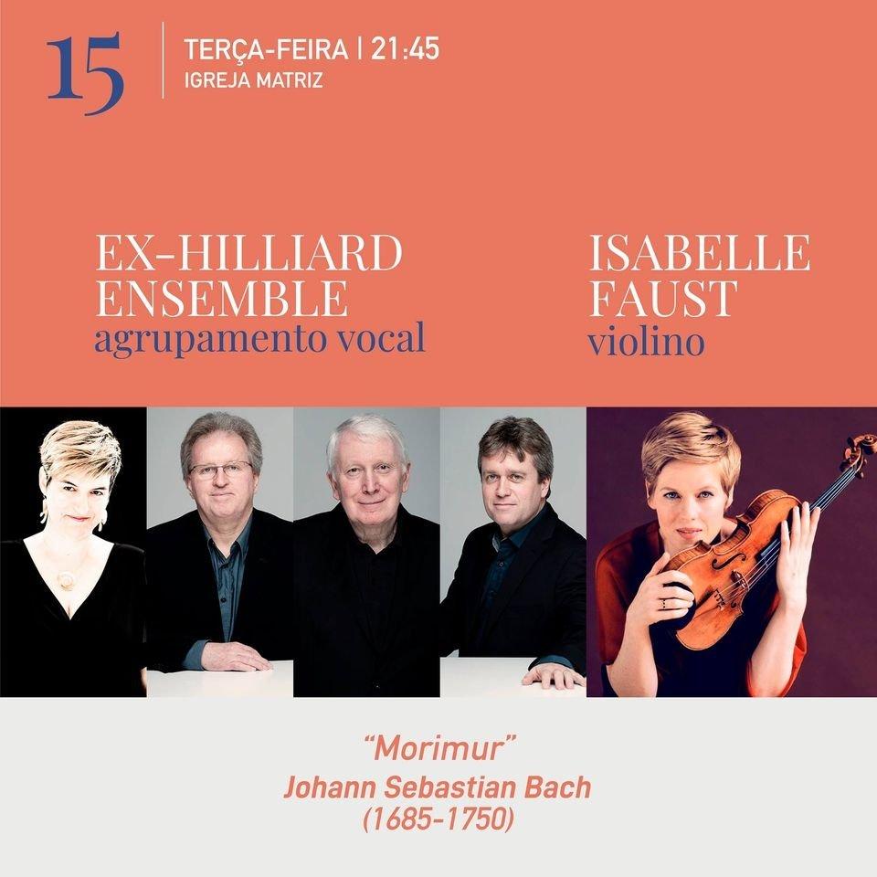 FIMPV: Concerto Ex-Hilliard Ensemble e Isabelle Faust