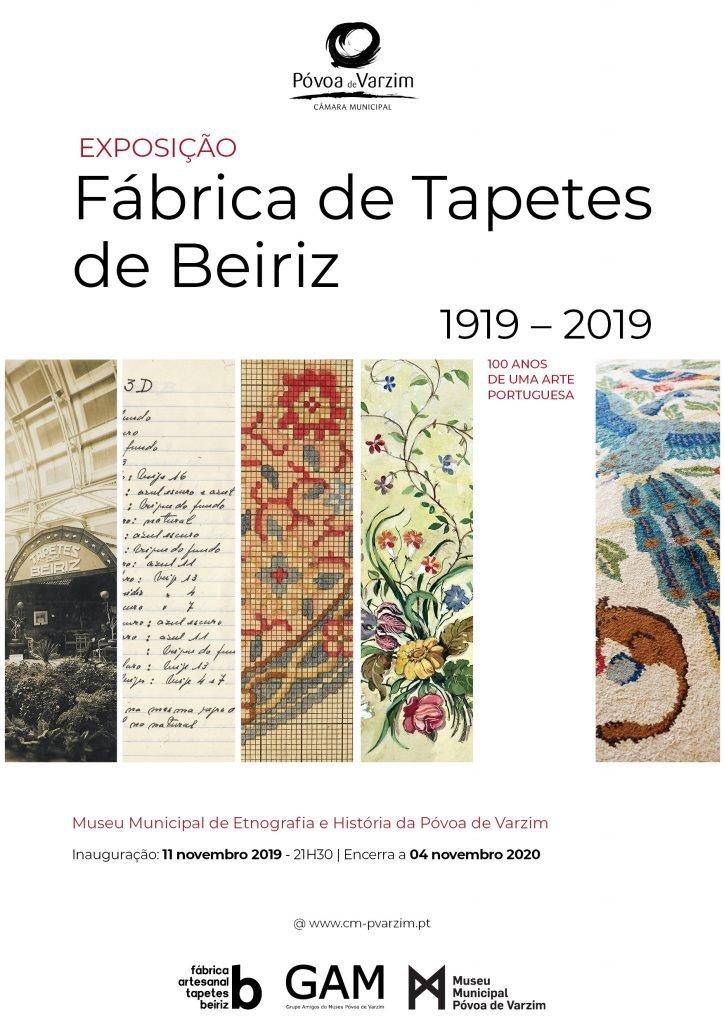Exposição: '1º Centenário da Fábrica dos Tapetes de Beiriz' - Atividade Suspensa