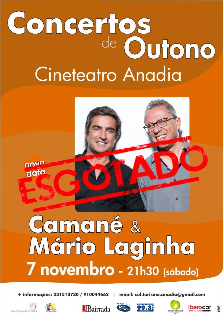 Camané & Mário Laginha - Concertos de Outono  - ESGOTADO