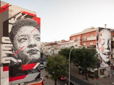 A arte urbana dá nova vida às ruas da Amadora