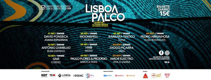 AMOR ELECTRO | VIVA O SAMBA - Lisboa ao Palco