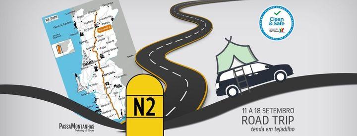 Road Trip Estrada Nacional Nº2 – Rota das Descobertas