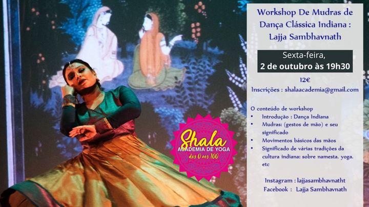 Workshop de dança Classica Indiana