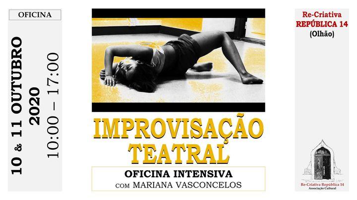 Improvisação Teatral - Oficina Intensiva com Mariana Vasconcelos