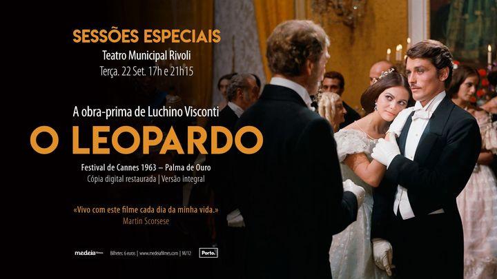 O Leopardo, de Luchino Visconti: Cópia Digital Restaurada - Versão Integral | Rivoli