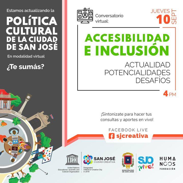 Conversatorio Virtual: Accesibilidad e Inclusión