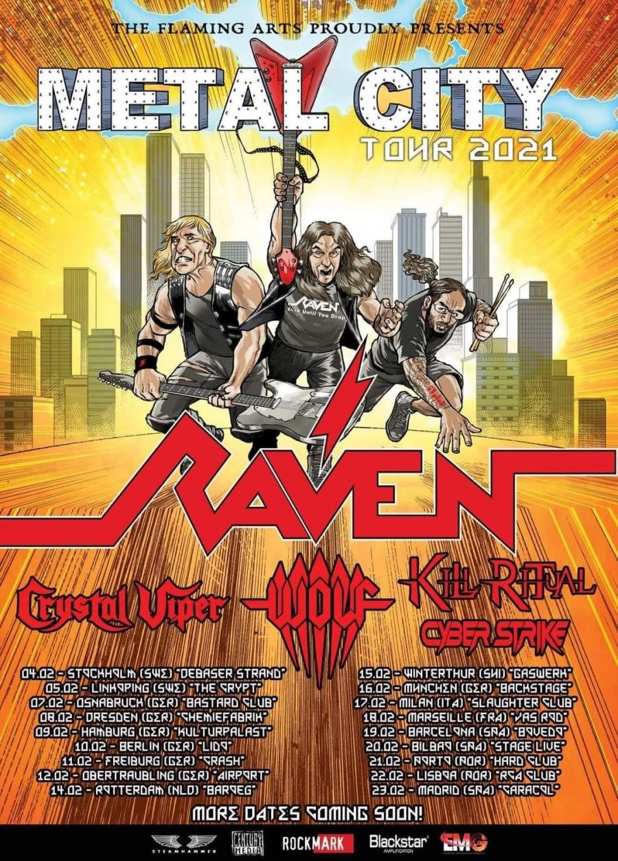 METAL CITY TOUR