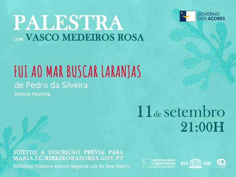 Palestra - Pedro da Silveira: crítico e historiador literário