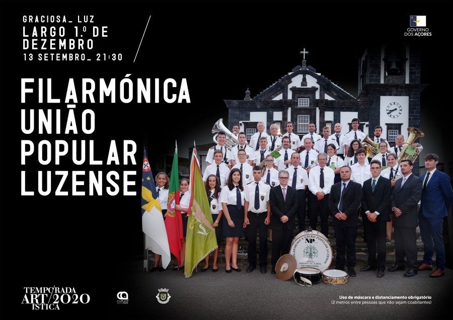 Temporada Artística 2020: Concerto pela Filarmónica União Popular Luzense