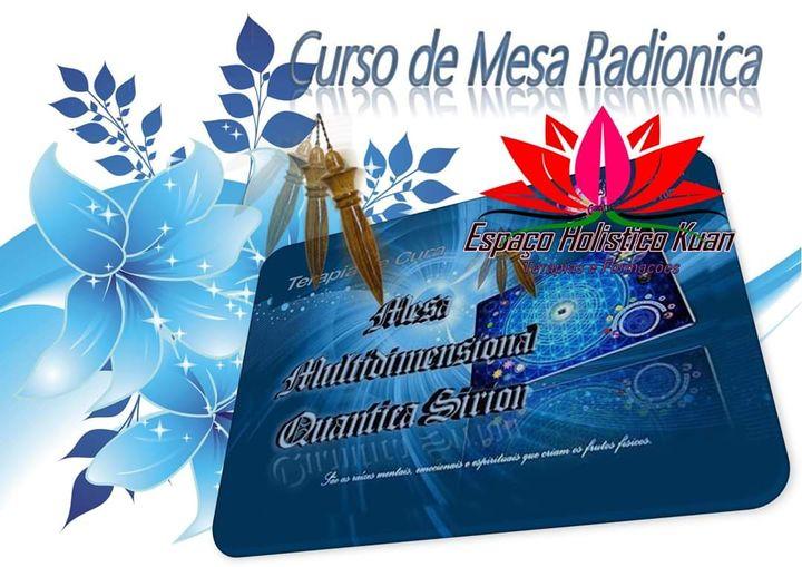 Curso de Mesa Radionica Multidimensional Sirion