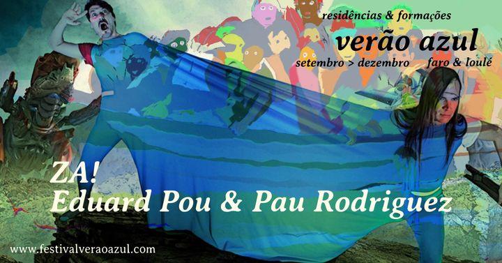 Verão Azul 2020 - Workshop Improvisação Musical Conduzida - ZA! Eduard Pou & Pau Rodriguez