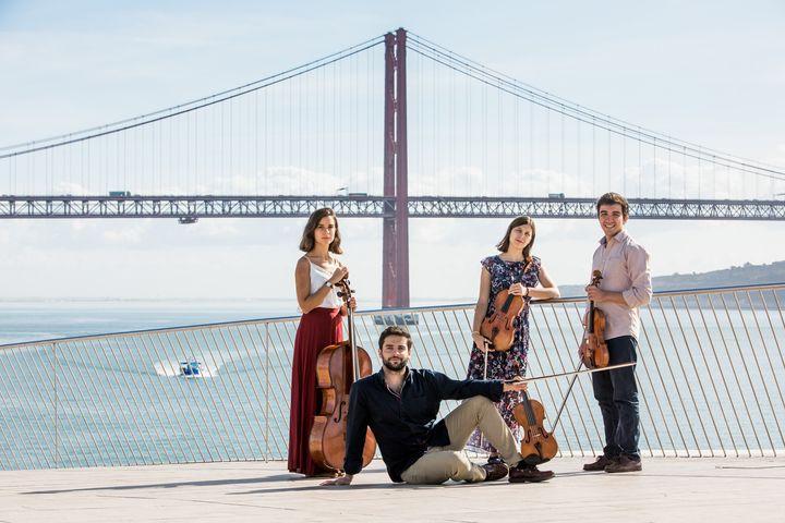 Festival Jovens Músicos   Quarteto Tejo   21h30    Igreja da Misericórdia   Loulé   Antena 2 e Live stream