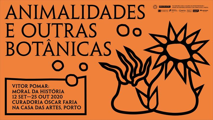 Exposição «Moral da História» de Vítor Pomar