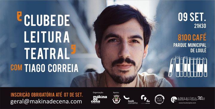 Clube de Leitura Teatral com Tiago Correia