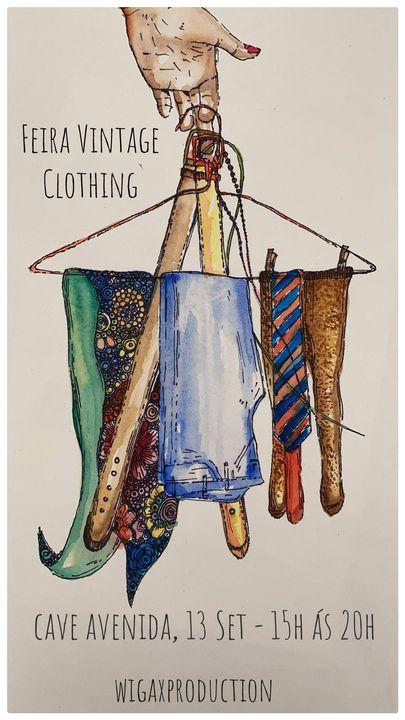 Feira de Vintage Clothing