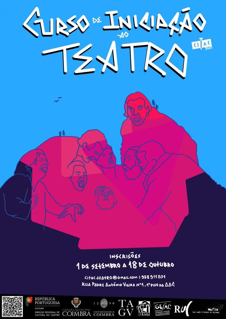 Curso de Iniciação ao Teatro 2020/21 – INSCRIÇÕES ABERTAS