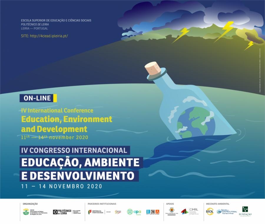 IV Congresso Internacional: Educação, ambiente e desenvolvimento