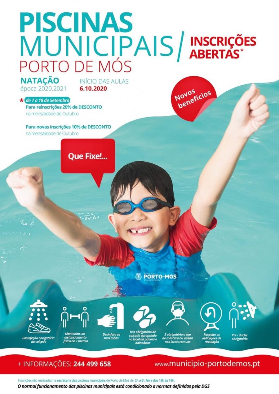 Piscinas Municipais de Porto de Mós - Época 2020/2021