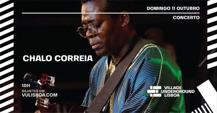 Domingo 11 OUT- Concerto Chalo Correia