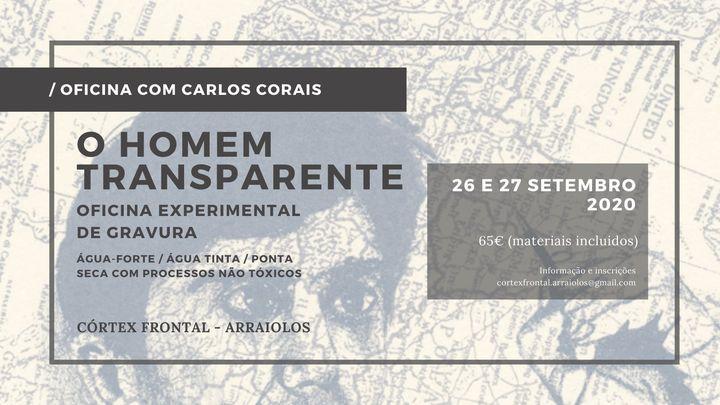 Oficina de gravura com Carlos Corais