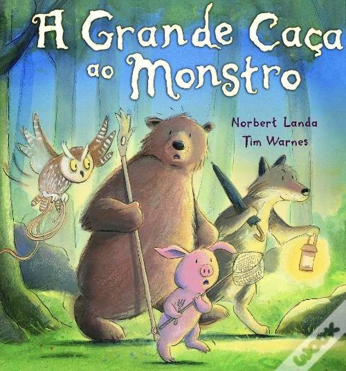 Hora do conto das famílias: A grande caça ao monstro