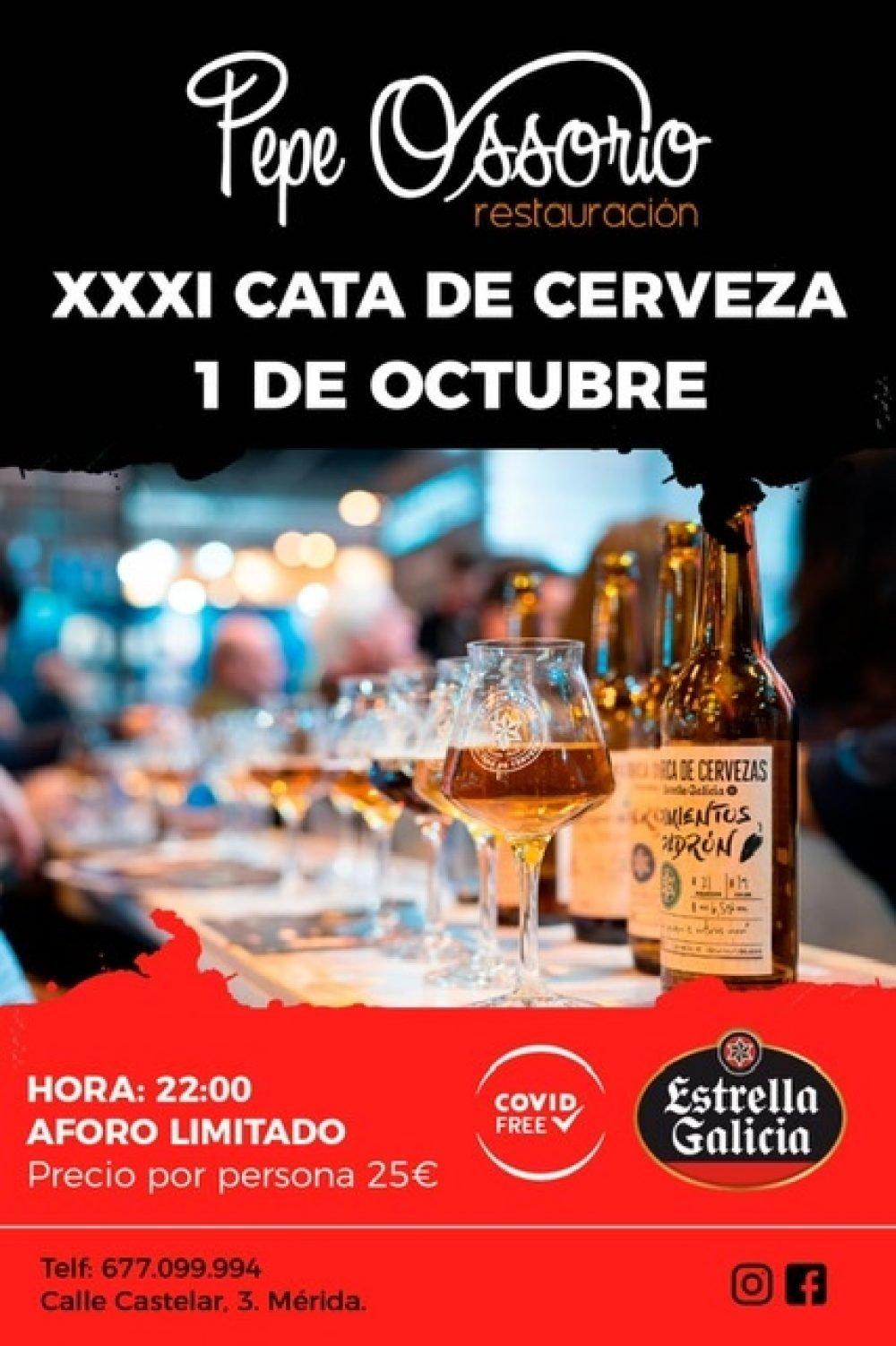 XXXI Cata de cerveza