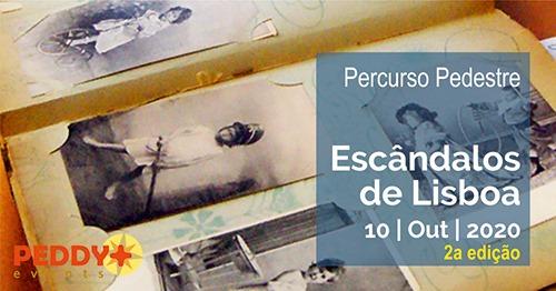 Percurso Pedestre 'Escândalos de Lisboa' (2ª Edição)