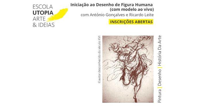 Iniciação ao Desenho de Figura Humana (com modelo ao vivo)