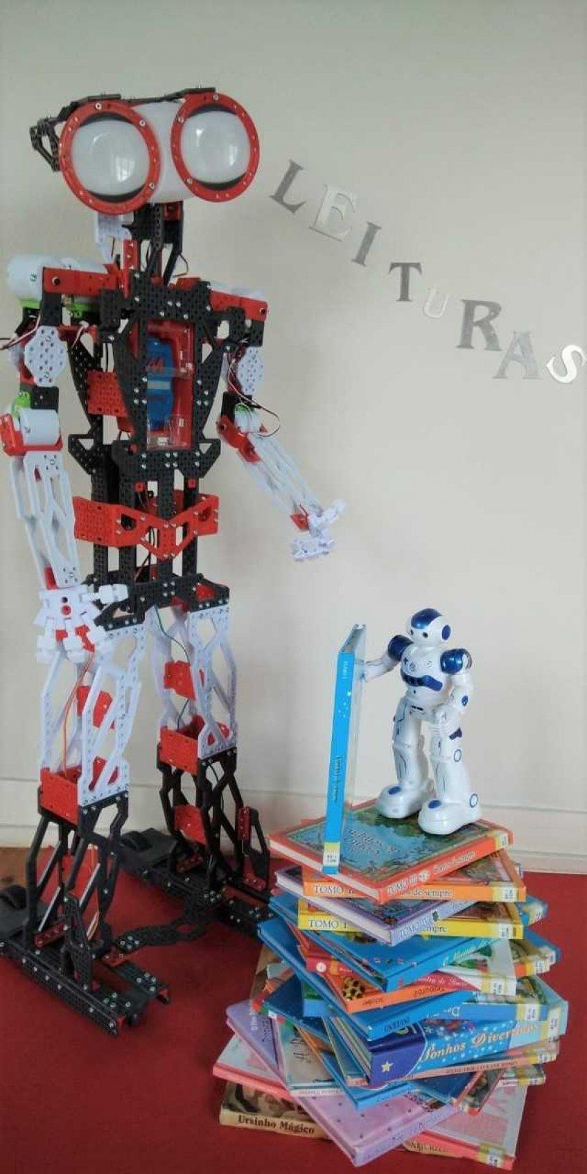 Histórias com Robótica