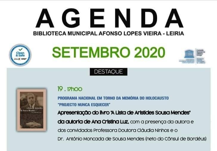 A Lista de Aristides de Sousa Mendes: Apresentação de livro