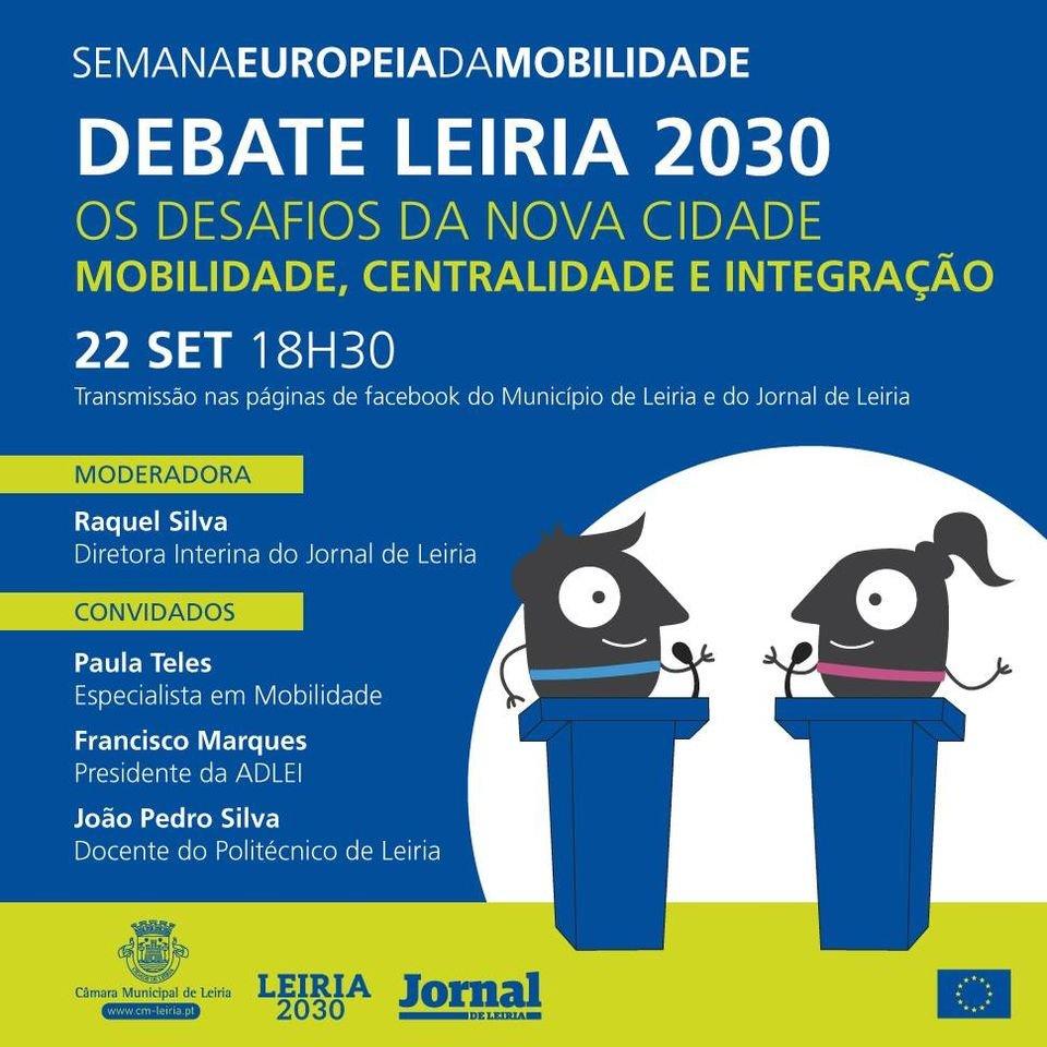 Debate Leiria 2030: Os desafios da nova cidade