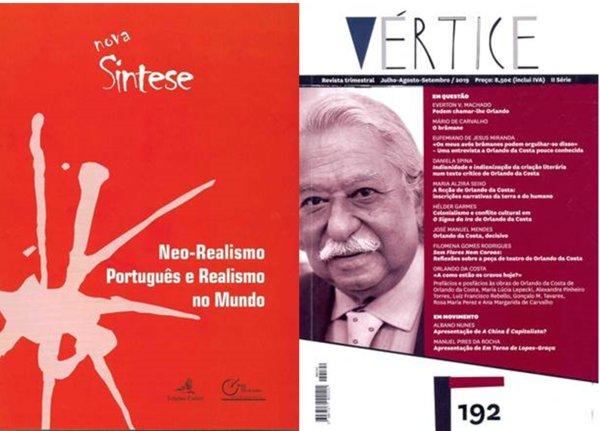 """""""Vértice"""" e """"Caderno Nova Síntese"""" apresentados no Museu do Neo-Realismo em Vila Franca de Xira"""