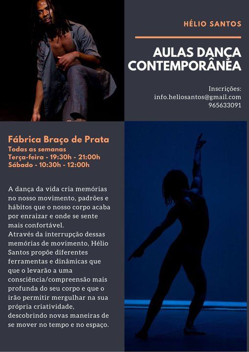Aulas de Dança Contemporânea | com Hélio Santos