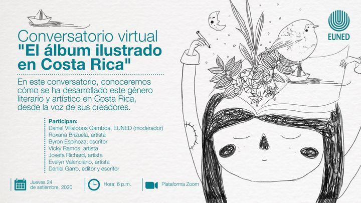 Conversatorio virtual 'El álbum ilustrado en Costa Rica'