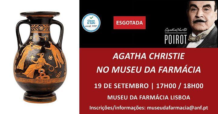 Visita Temática 'Agatha Christie no Museu da Farmácia' Esgotada
