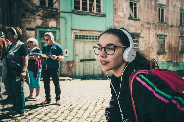 'Esteiros' Percurso sonoro pelas ruas da cidade
