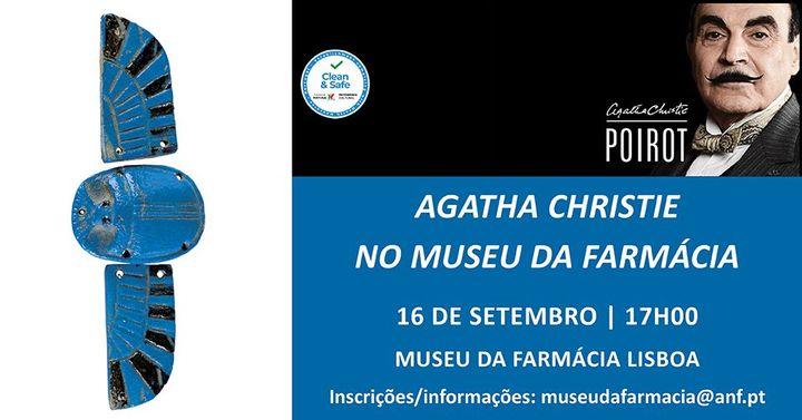Visita 'Agatha Christie no Museu da Farmácia' Lisboa