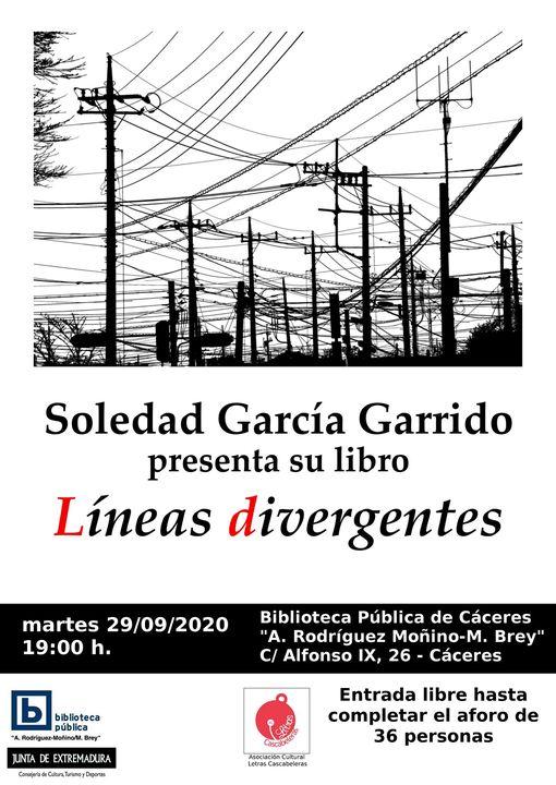 Presentación de «Líneas divergentes» de Soledad García Garrido