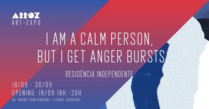Expo: I am a calm person, but I get anger bursts