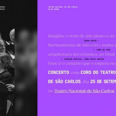 Coro do Teatro Nacional de São Carlos | Salão Nobre 1
